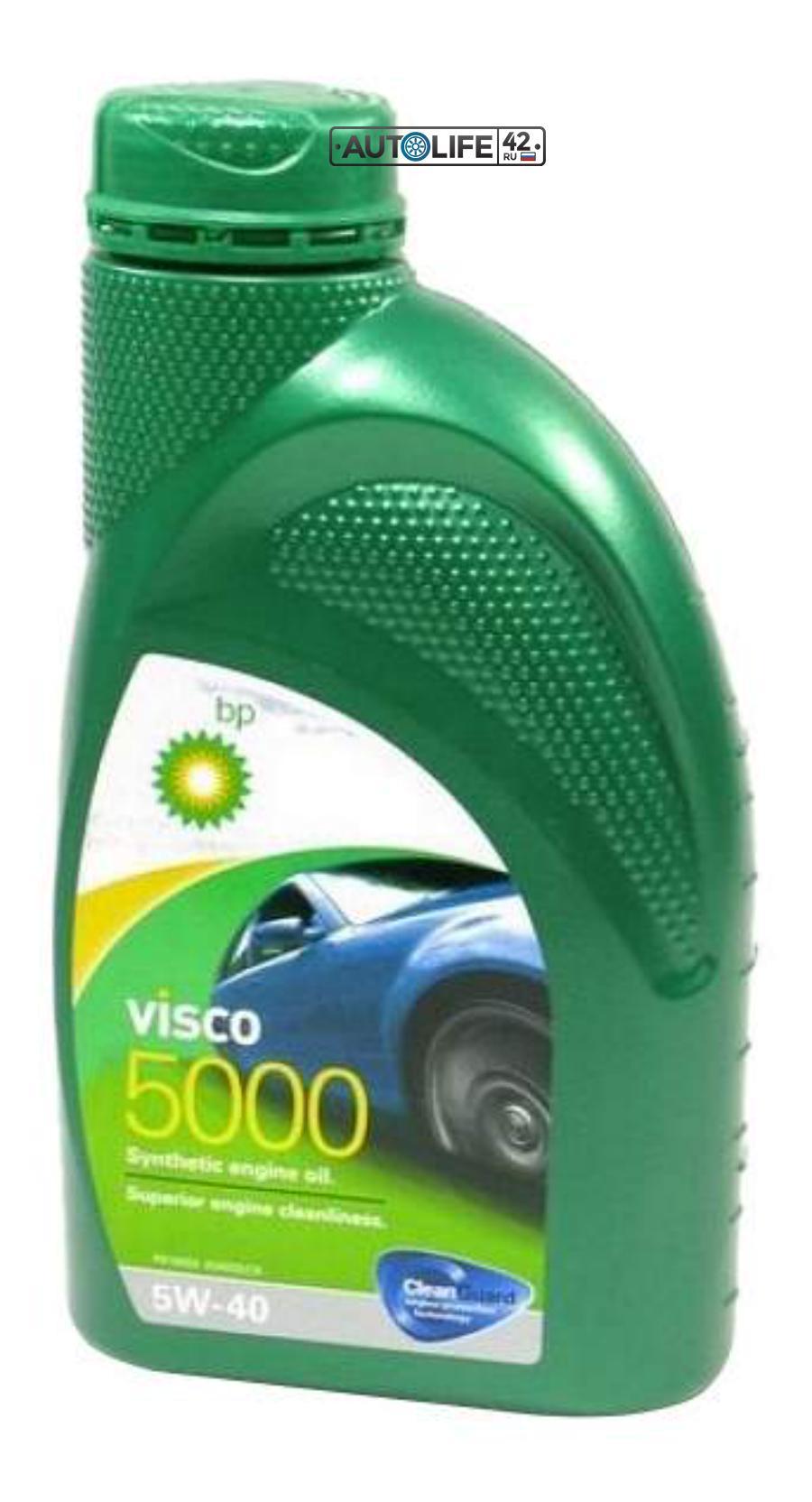 Масло моторное синтетическое Visco 5000 5W-40, 1л