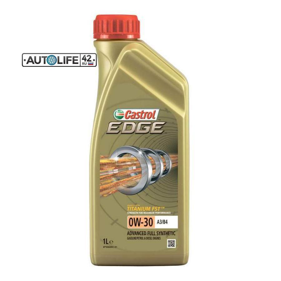 Моторное масло Castrol EDGE Titanium FST SAE 0W30 1L (12шт/кор) CASTROL 157E6A