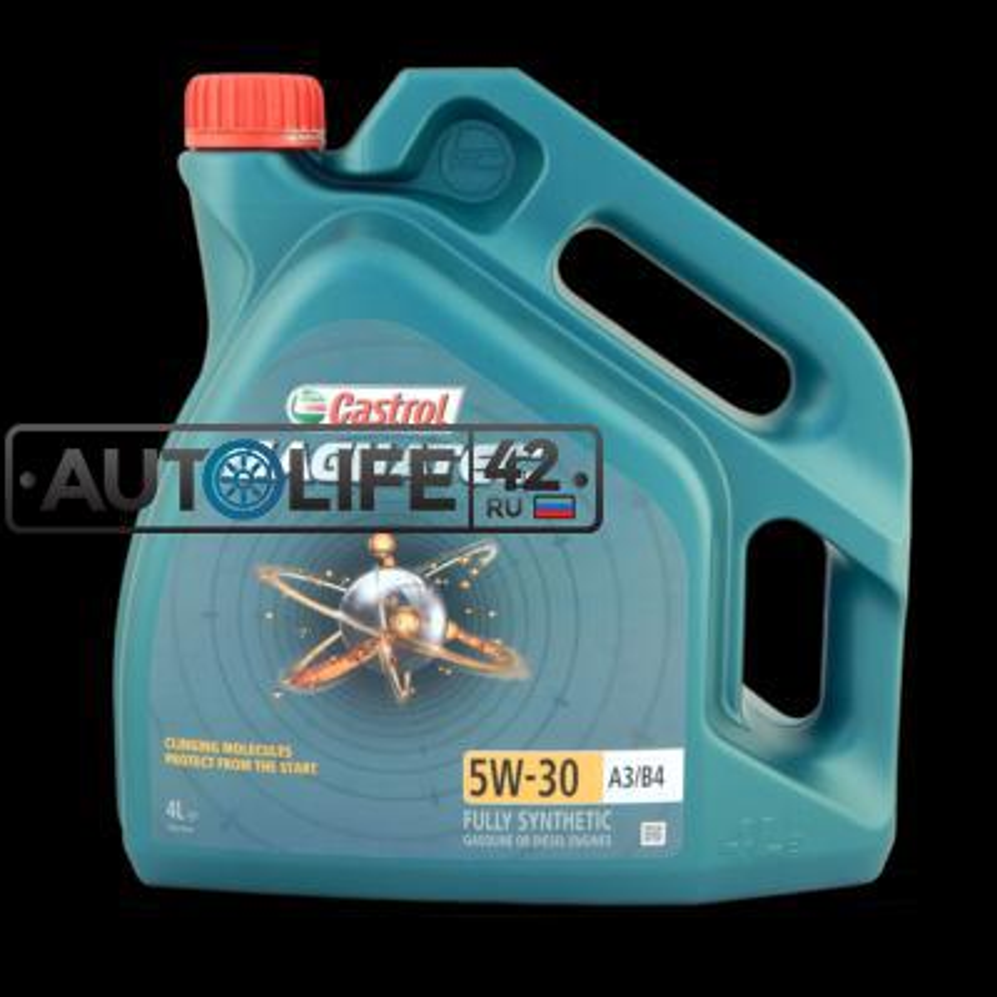 А/МАСЛО CASTROL MAGNATEC 5W30 A3/B4 4 L CASTROL 156ED5