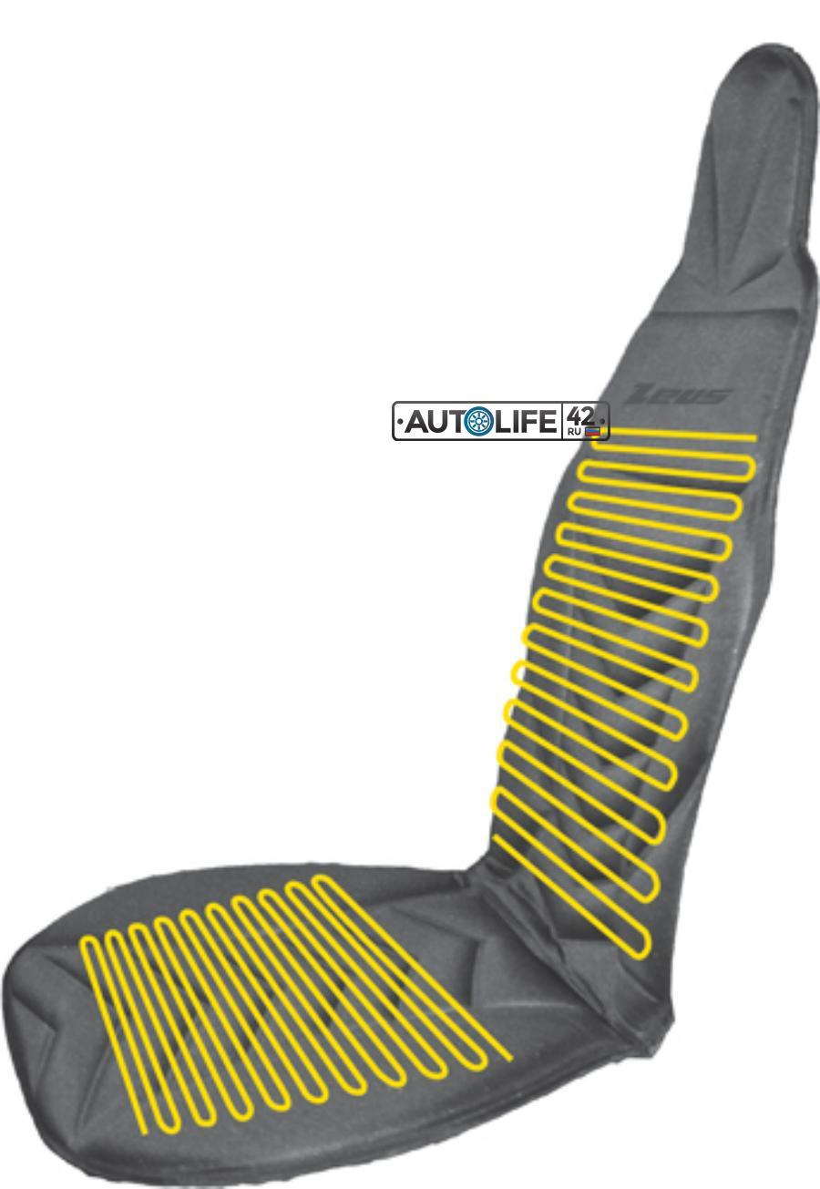 Накладка на сиденье автомобиля с подогревом