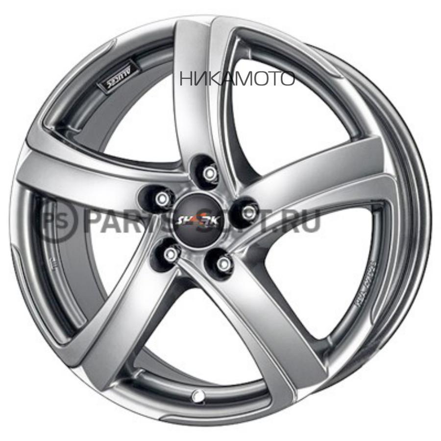 8x18/5x120 ET35 D72,6 Shark Sterling Silver