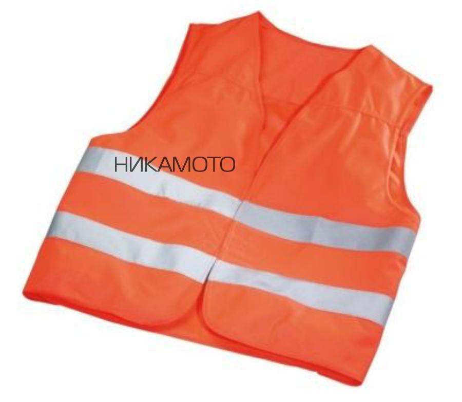 Светоотражающий жилет Mercedes Emergency Vest Orange