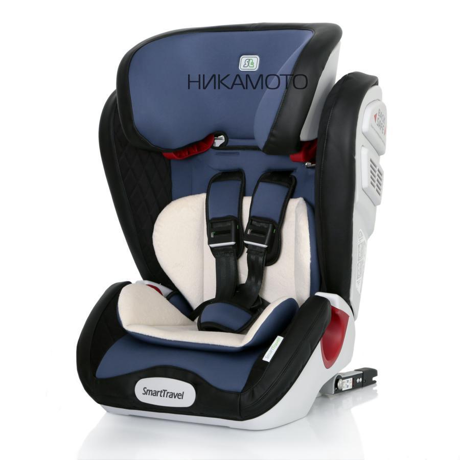 Детское автомобильное кресло Magnate Isofix Smart Travel blue