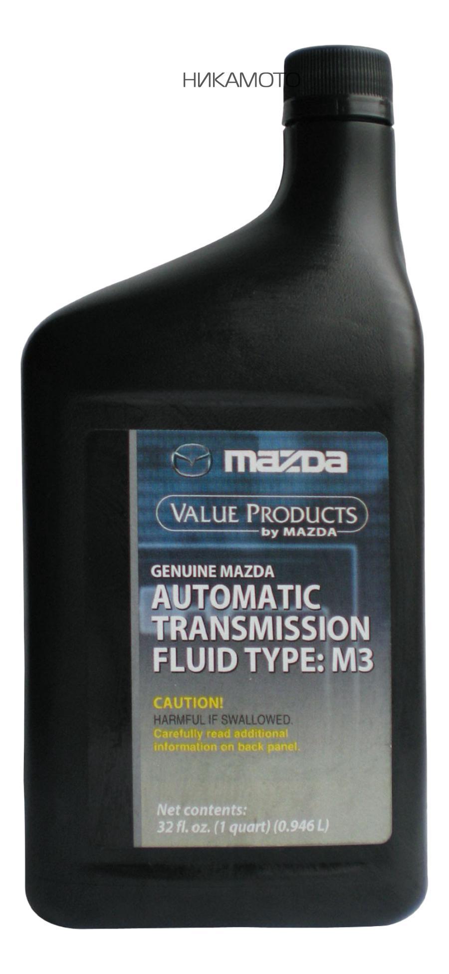 Масло трансмиссионное минеральное ATF M-III, 1л MAZDA 000077110E01