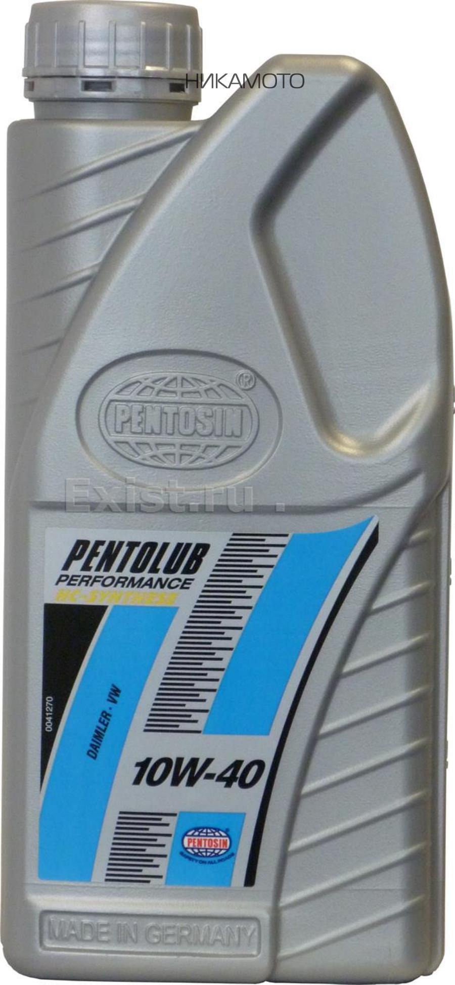 Масло моторное полусинтетическое Performance 1HC 10W-40, 1л
