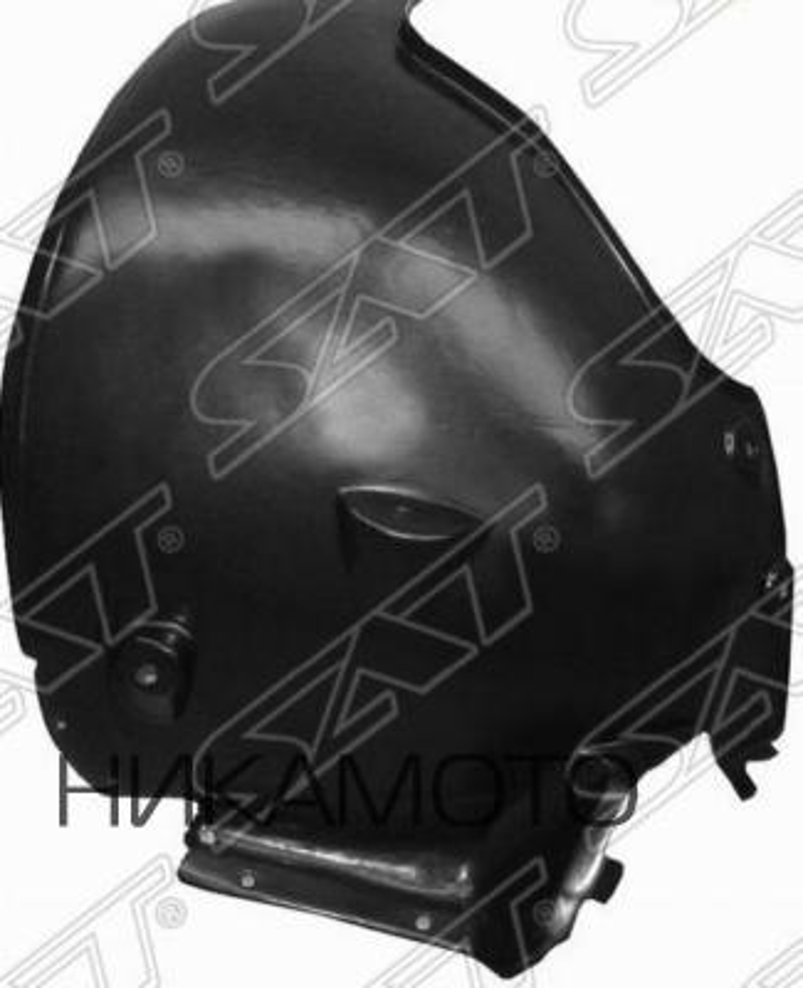 Подкрылок MERCEDES W211 02-09 LH задняя часть (пр-во Тайвань)