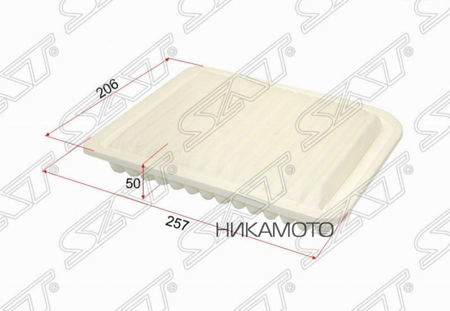 Фильтр воздушный MITSUBISHI ASX 10- / GALANT 08- / GRANDIS 04-10 / LANCER 07- / OUTLANDER 10