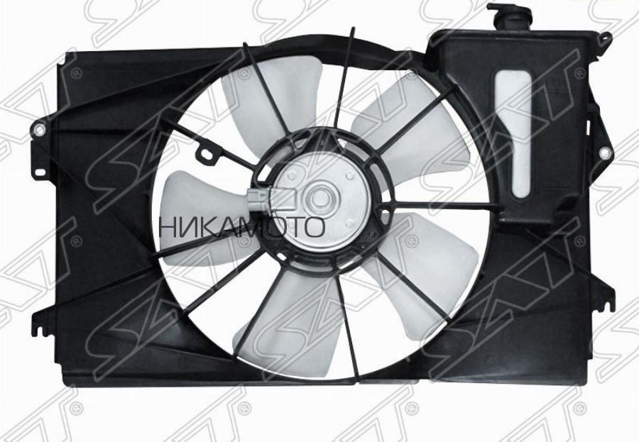 Диффузор радиатора в сборе TOYOTA COROLLA FIELDER / VOLTZ / RUNX / ALLEX / SPACIO / WILL VS / Vi (с мотором)