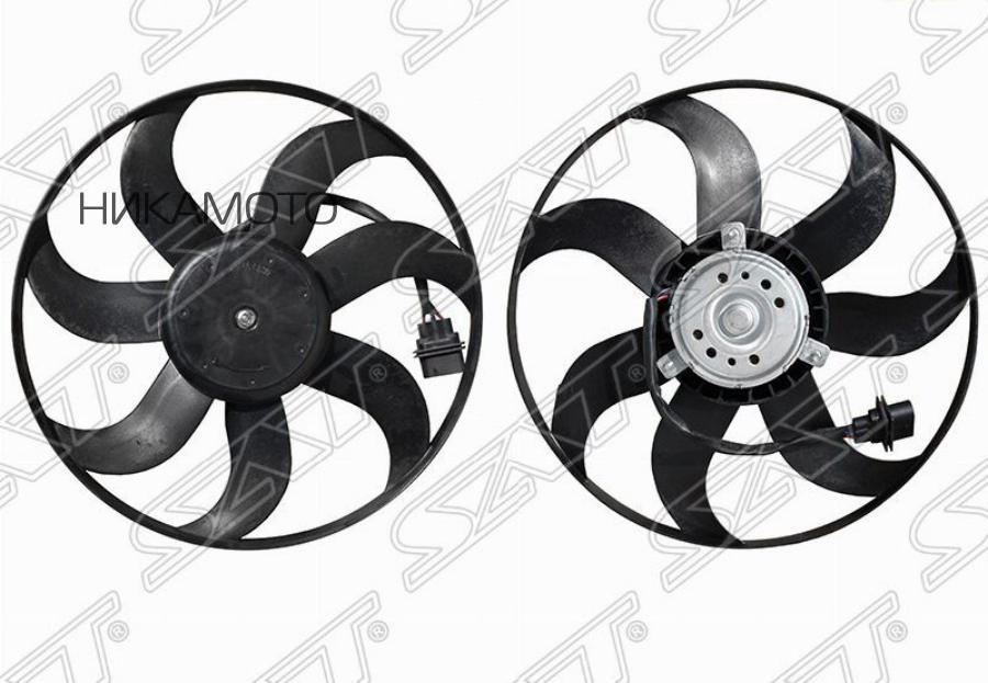 Диффузор радиатора VOLKSWAGEN POLO SEDAN 10- / SEAT IBIZA 08- / SKODA FABIA / ROOMSTER 10