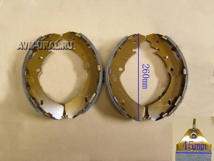 Колодки задние барабанные GREAT WALL 3502190P00