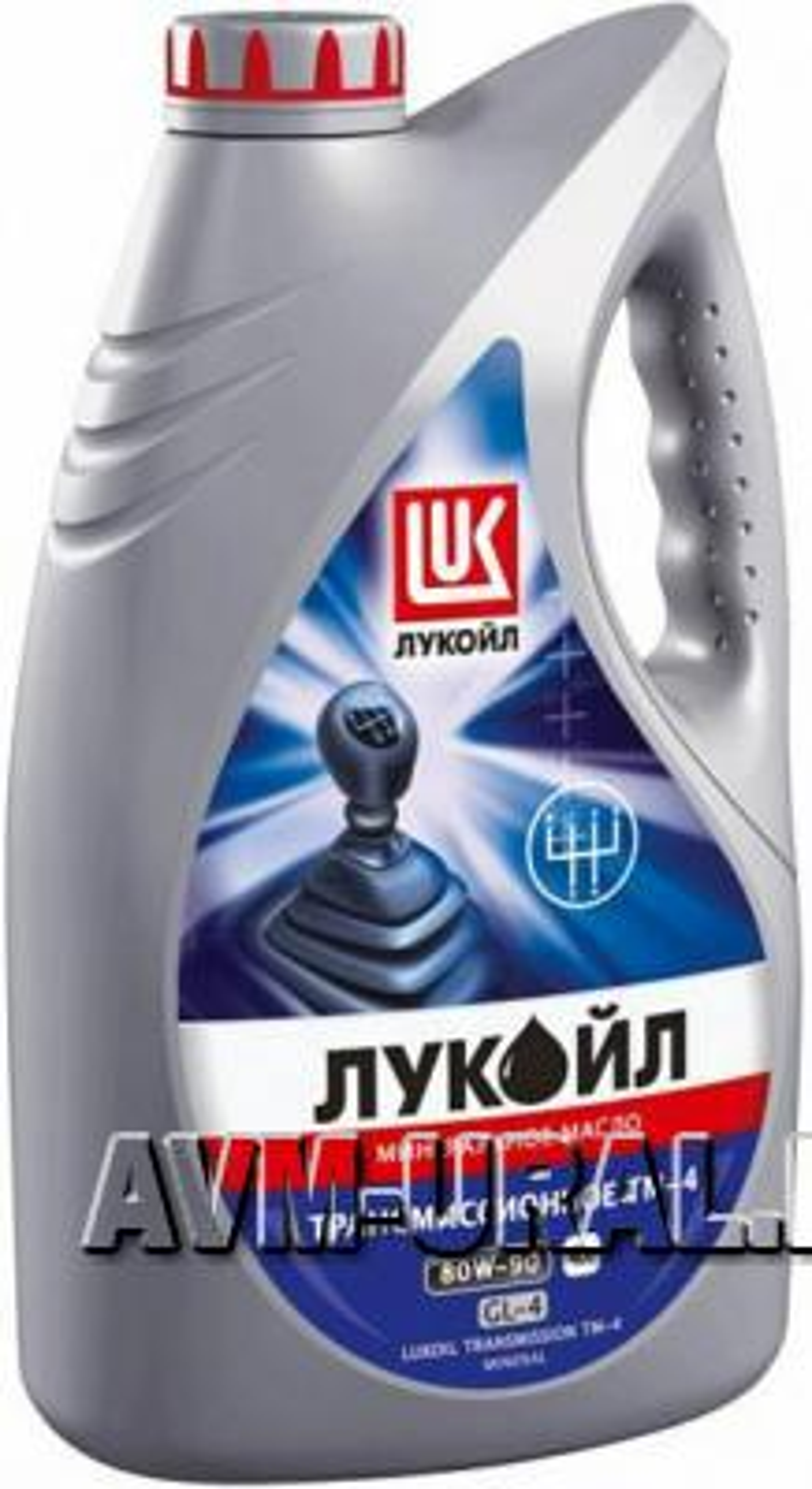 Масло трансмиссионное ЛУКОЙЛ GL-4 80W90 (4 л)
