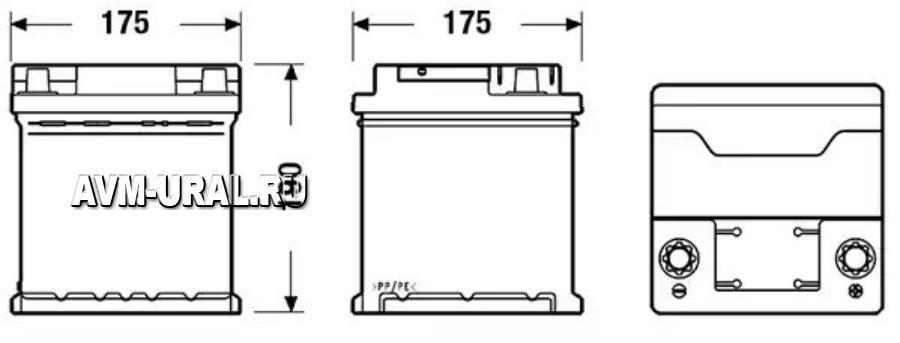 Аккумуляторная батарея Deta POWER DB440