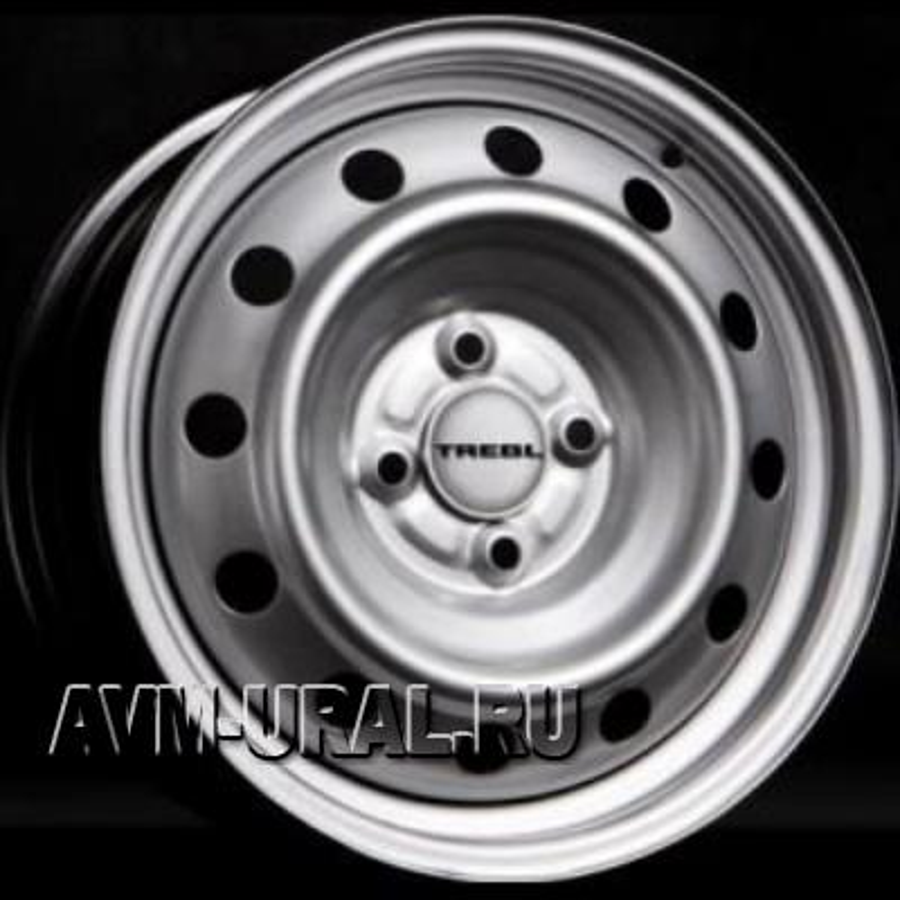 TREBL 53B35B 5.5x14/4x98 ET35 D58.6 Silver