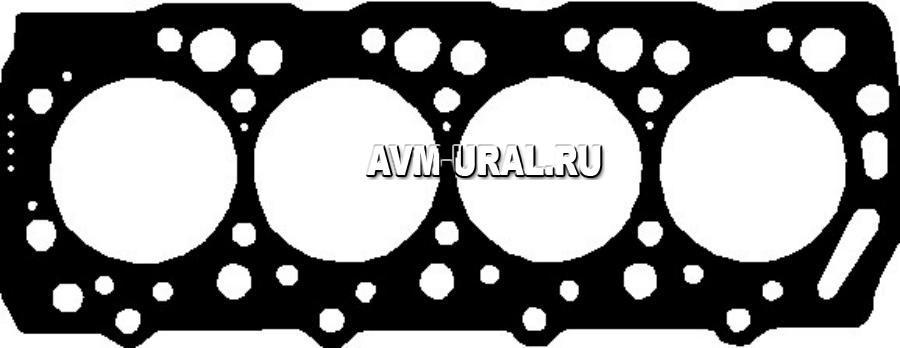 Прокладка ГБЦ металлическая