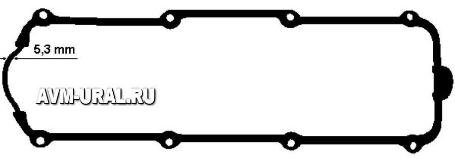 Прокладка клапанной крышки ELRING 915.653
