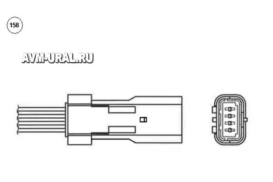 Датчик кислородный OZA603U1