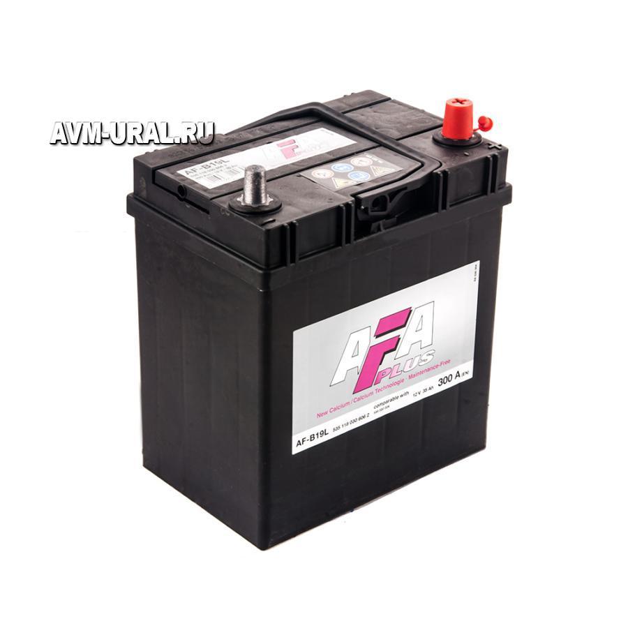 Аккумулятор AFA 35 А/ч 535118 AF ОБР выс узк кл EN300