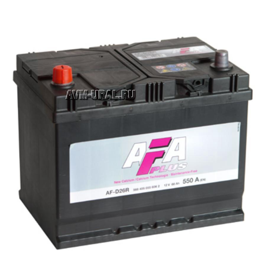 Аккумулятор AFA 68 А/ч 568405 AF выс EN 550