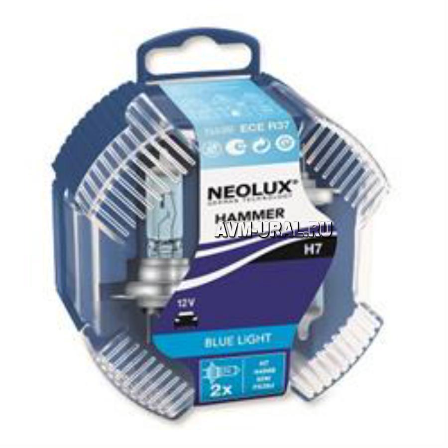 Лампа накаливания H7 55W 12V PX26D 10X2 NEOLUX