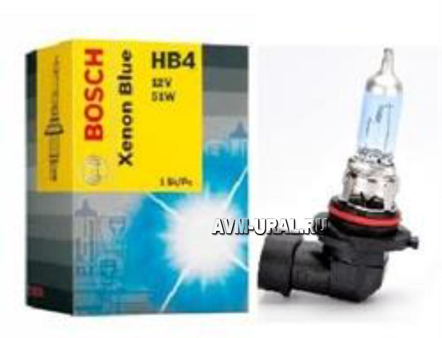 Лампа галоген Xenon Blue HB4 12В 51Вт