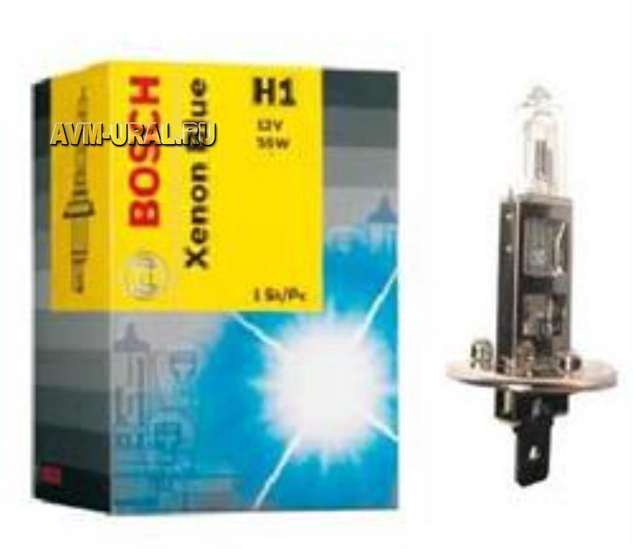 Лампа галоген Xenon Blue H1 12В 55Вт