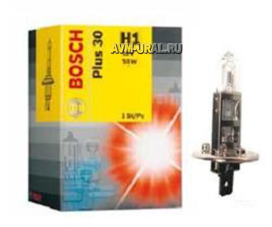 Лампа галоген Plus 30 H1 12В 55Вт