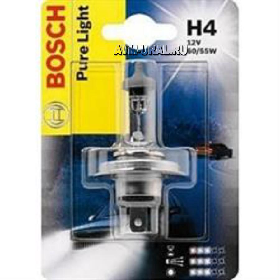 Лампа H4 12V 60/55W BMW/Daewoo/Honda/Hyundai/KIA/Skoda/1987301001