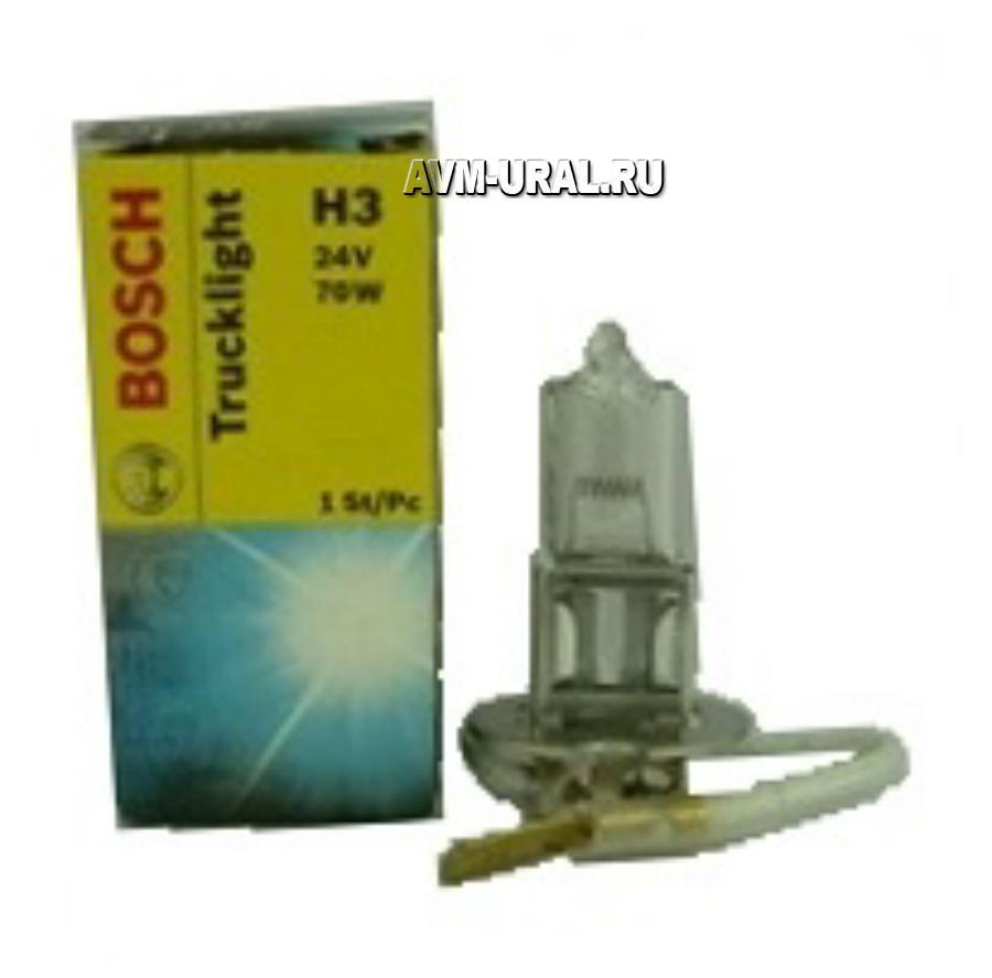 Лампа галоген Trucklight H3 24В 70Вт