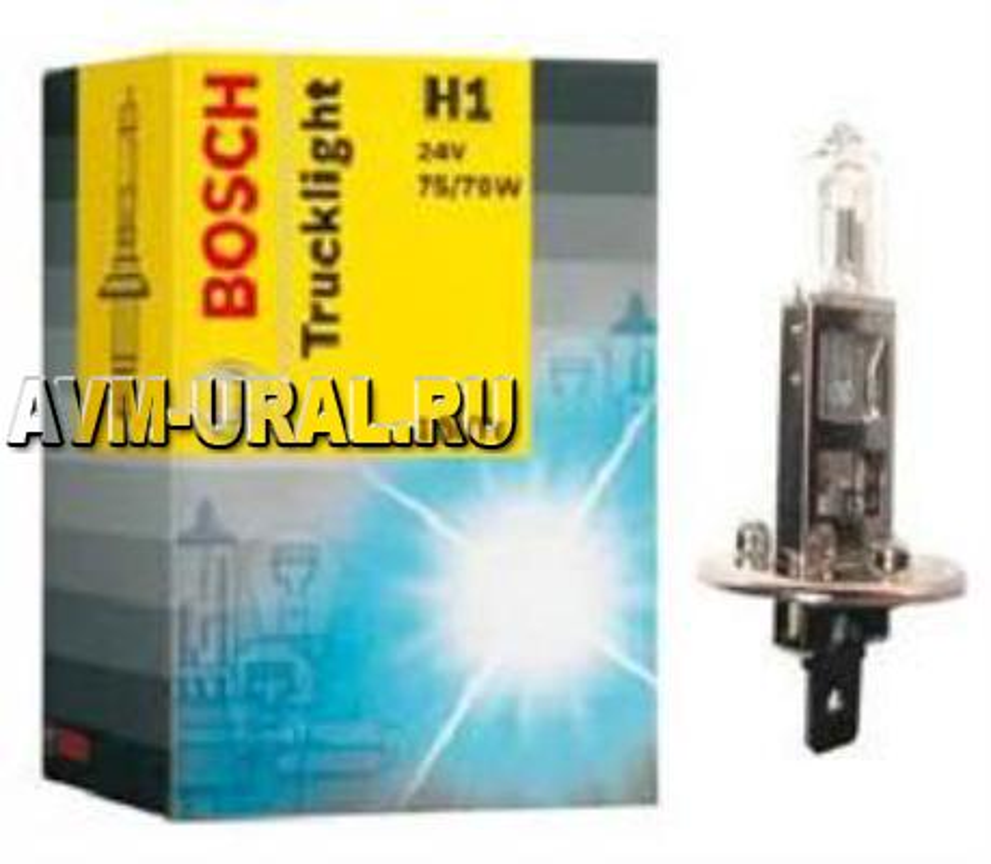 Лампа галоген Trucklight H1 24В 70Вт