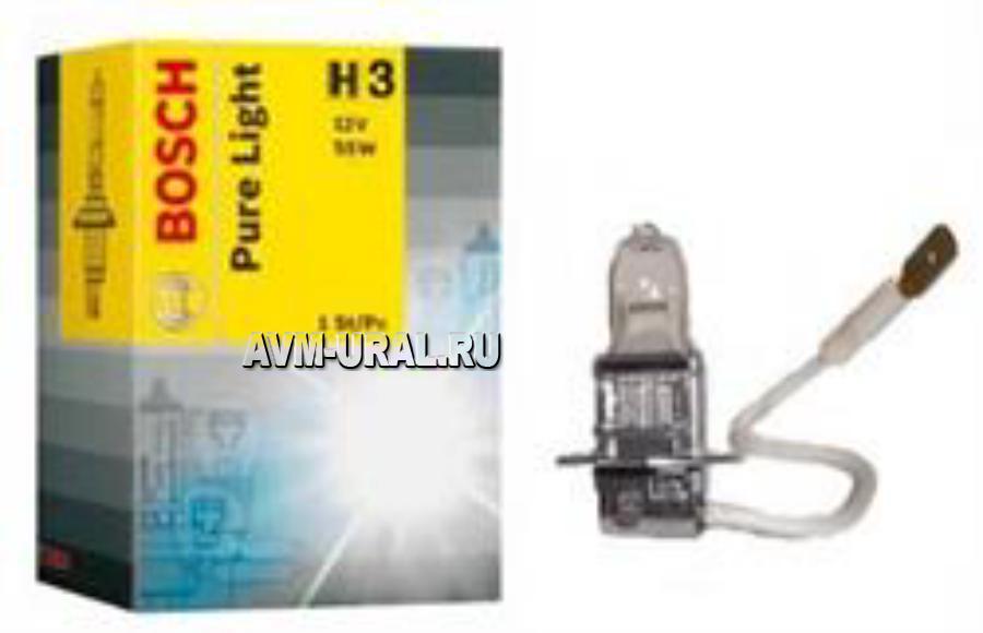 Лампа H3 BOSCH 12V 55W