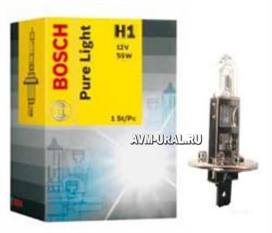 Лампа H1 BOSCH 12V55W