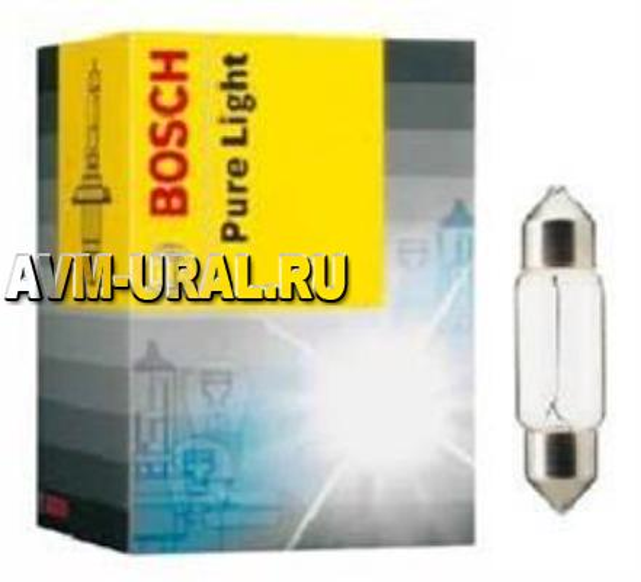 Лампа накаливания Pure Light C5W 12В 5Вт