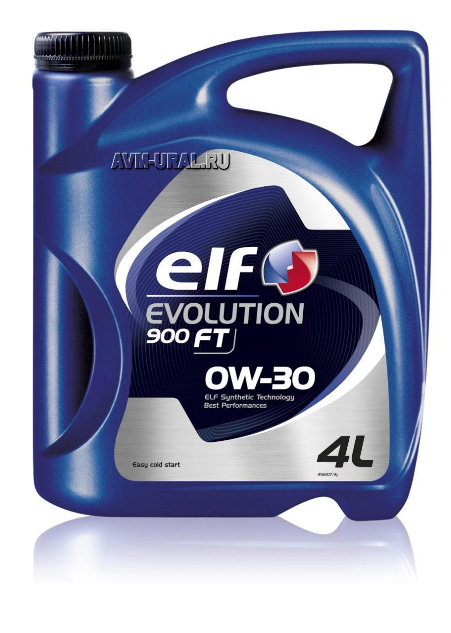 Масло моторное синтетическое Evolution 900 FT 0W-30, 4л