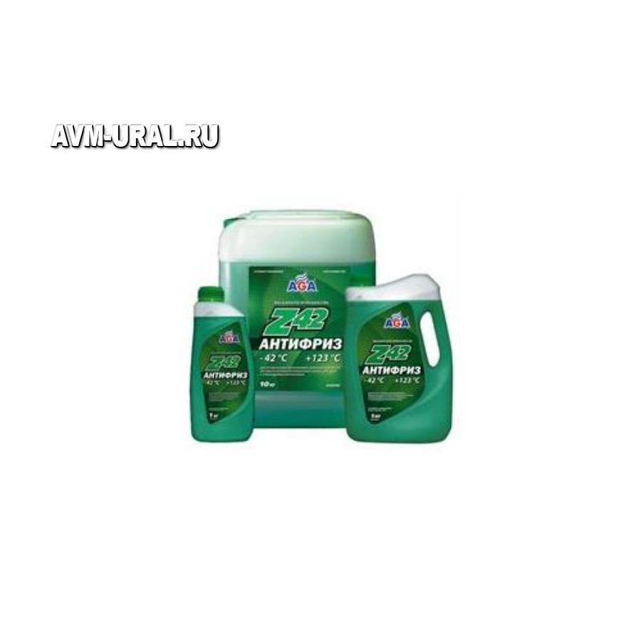 Антифриз, готовый к применению -42c, зеленый Z42, 946мл