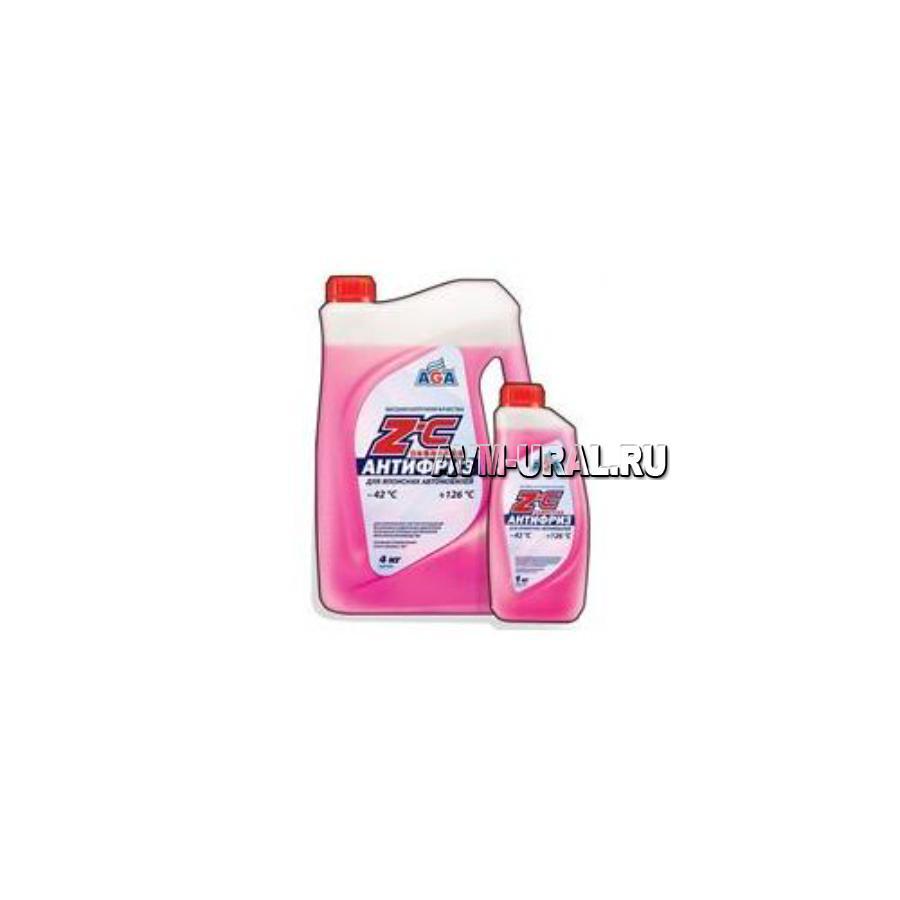 Жидкость охлаждающая Антифриз красный (-42) для японских автомобилей 4 л