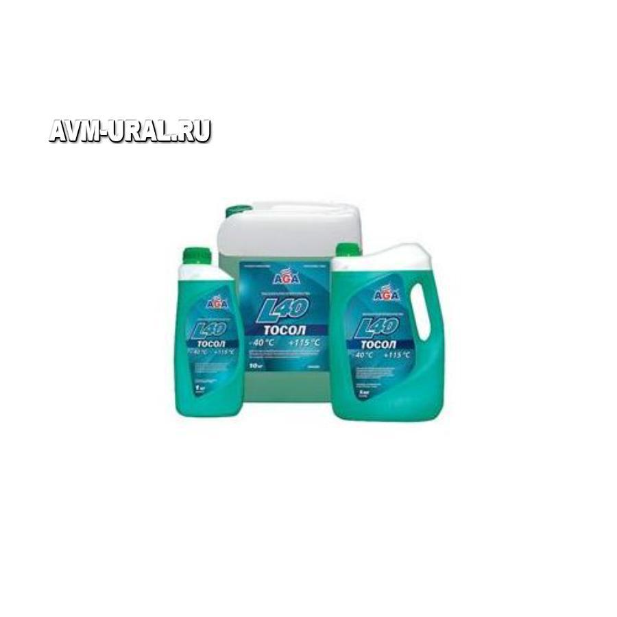 Жидкость охлаждающая ТОСОЛ L40 aga сине-зеленый 946 мл g11