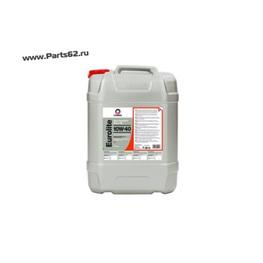 Масло моторное полусинтетическое Eurolite 10W-40, 20л