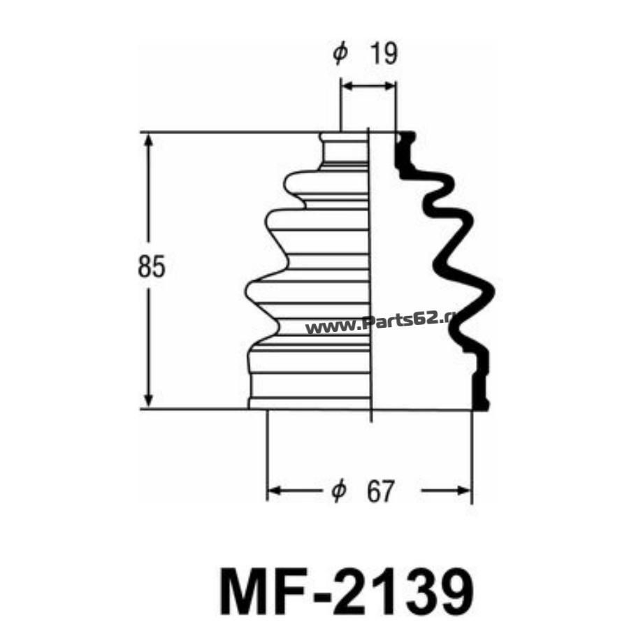 """Привода пыльник """"Masuma"""" MF-2139"""