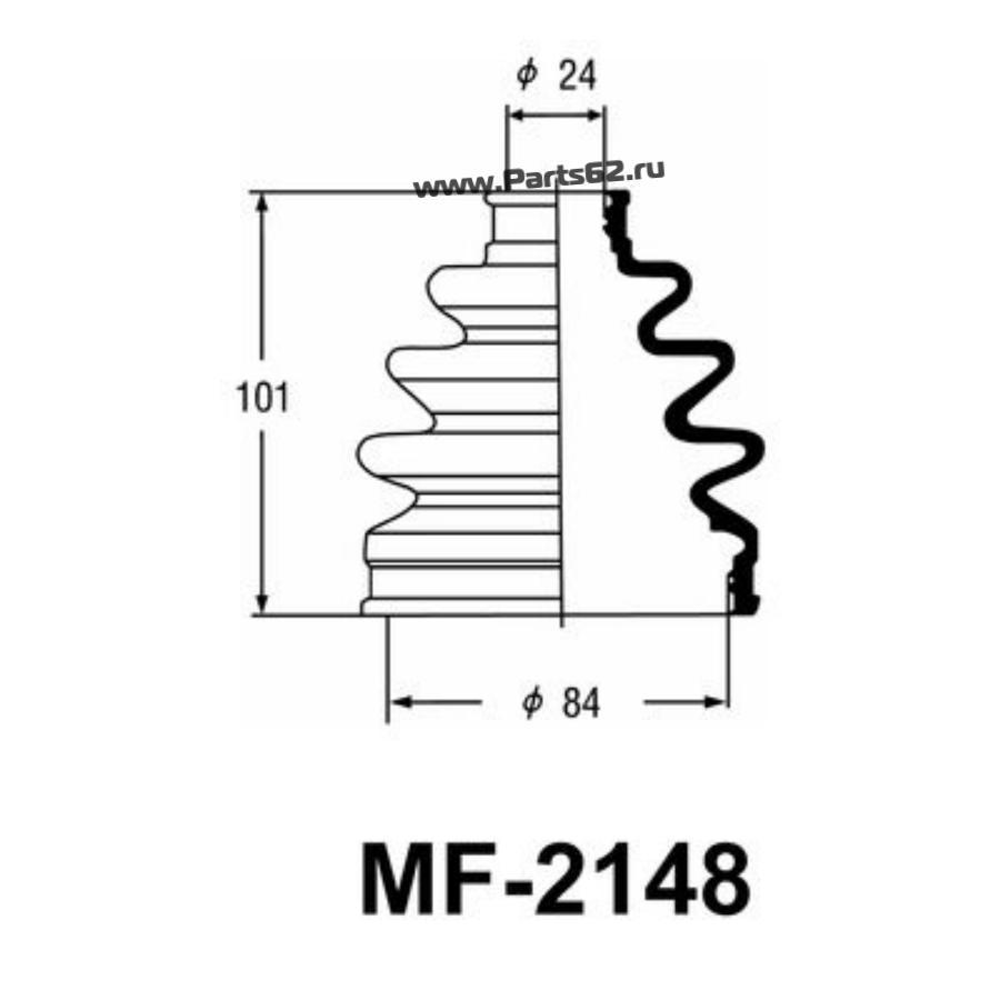 """Привода пыльник """"Masuma"""" MF-2148"""