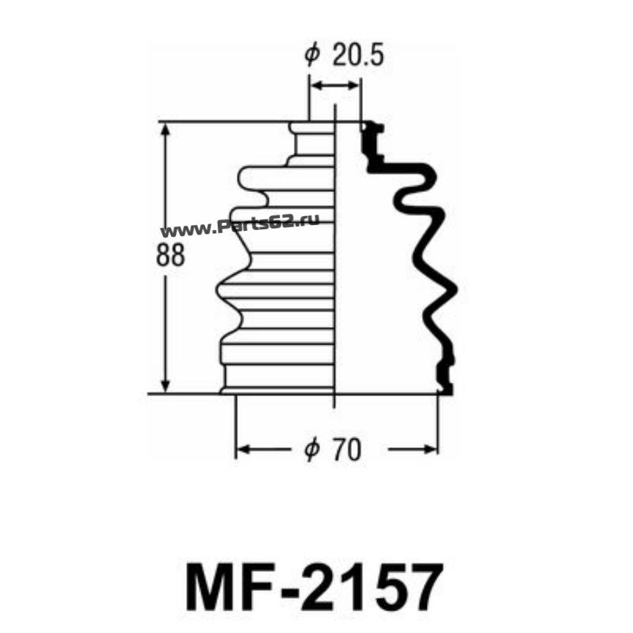"""Привода пыльник """"Masuma"""" MF-2157"""