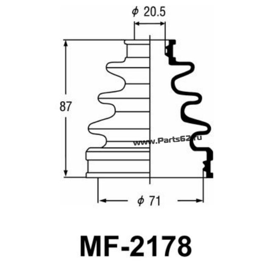 """Привода пыльник """"Masuma"""" MF-2178"""