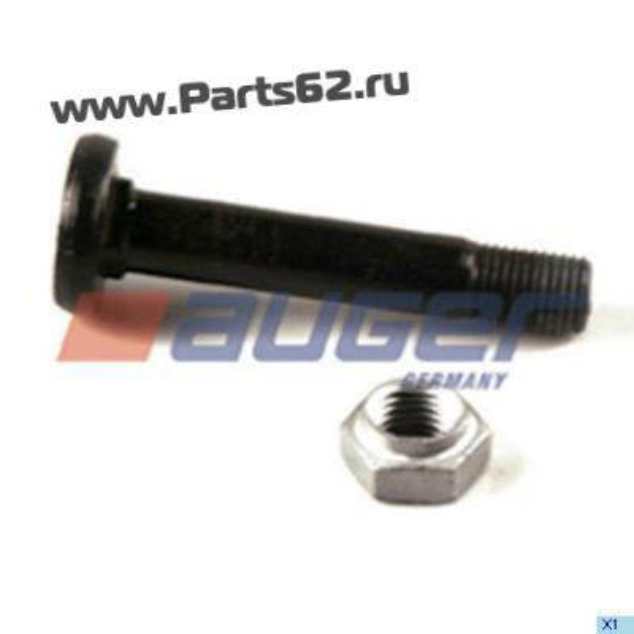Ремонтный комплект пальца полурессоры BPW, M30x3,5/173