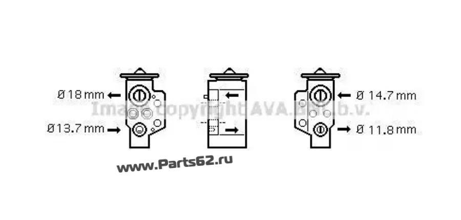 Расширительный клапан, кондиционер