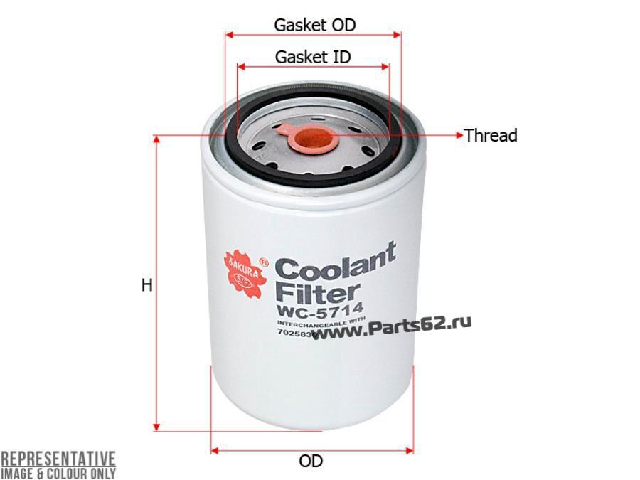 Фильтр для охлаждающей жидкости