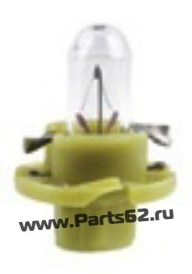 Лампа накаливания Plastic base lamps BAX 12В 1