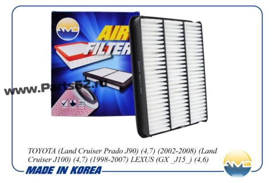Фильтр воздушный 17801-50040