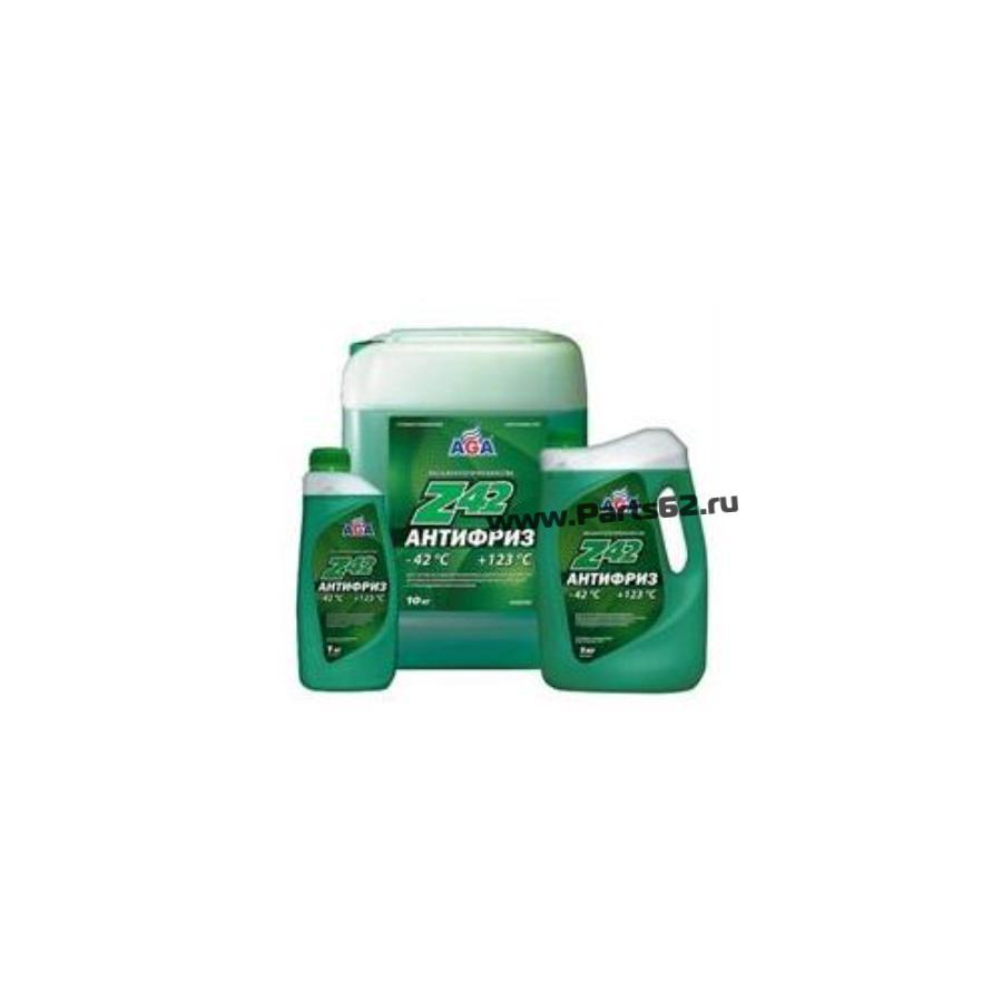 Антифриз, готовый к применению -42c, зеленый Z42, 5л