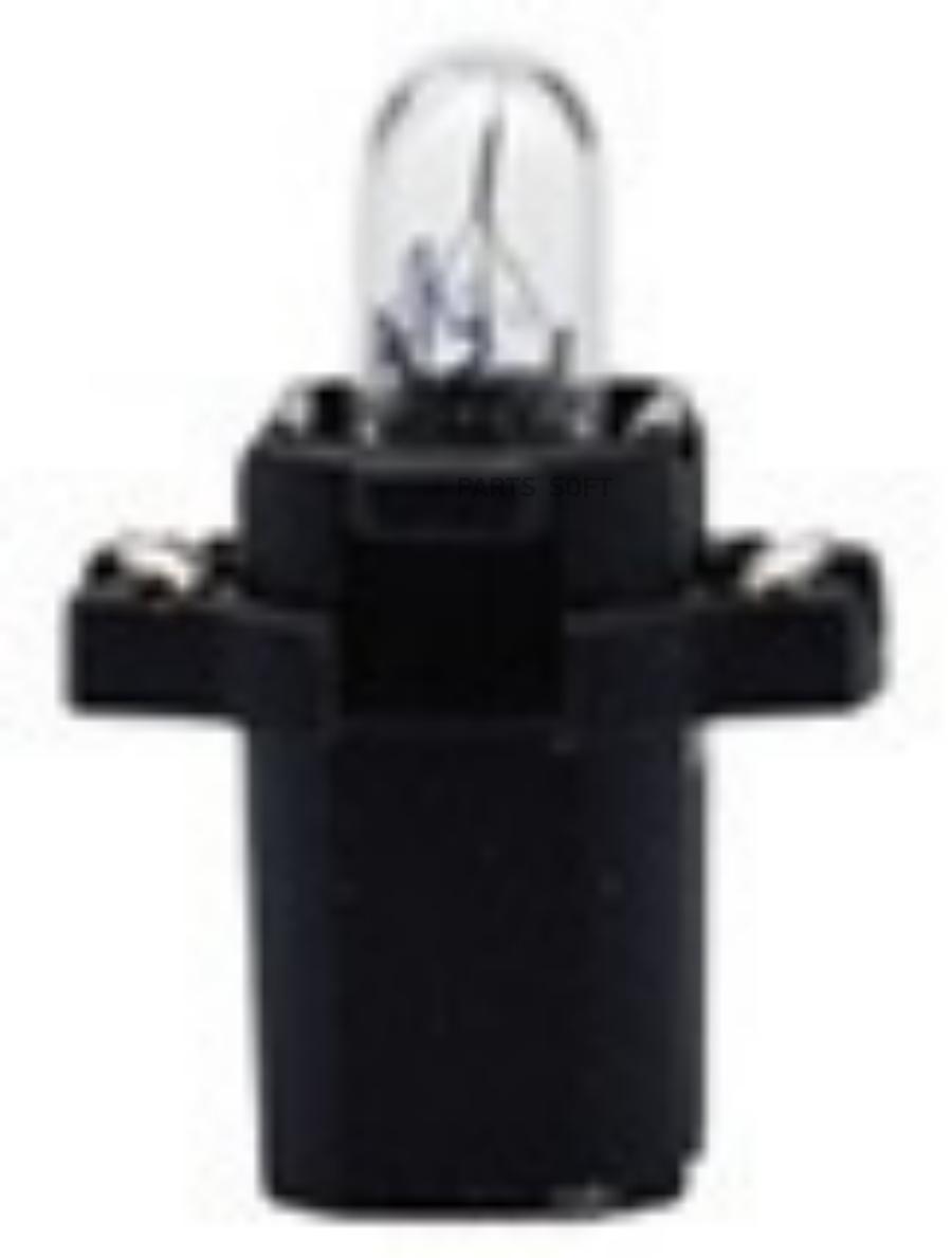 Лампа B8,3D 12V 1,2W BLACK