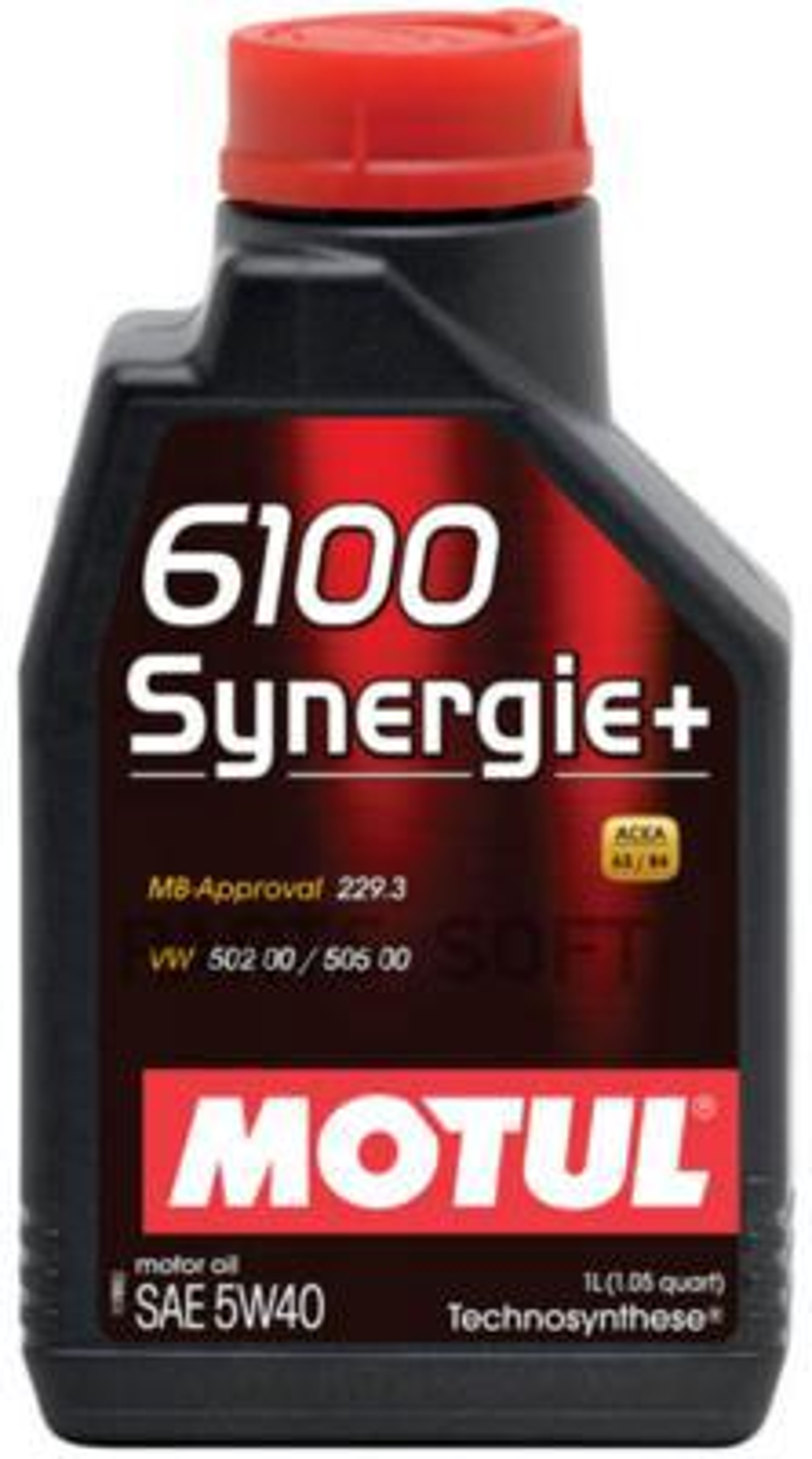 Масло моторное полусинтетическое 6100 Synergie+ 5W-40, 1л