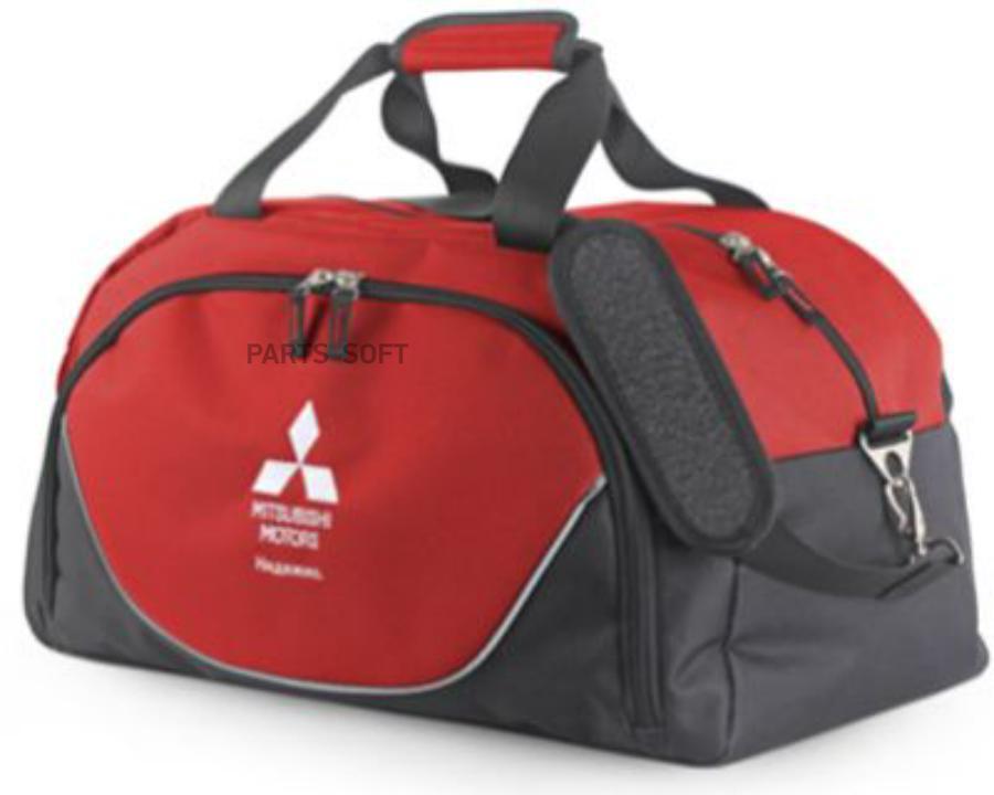 Спортивная сумка Mitsubishi Sports Bag Black-Red